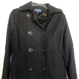 Jackets & Blazers - Grey pea coat